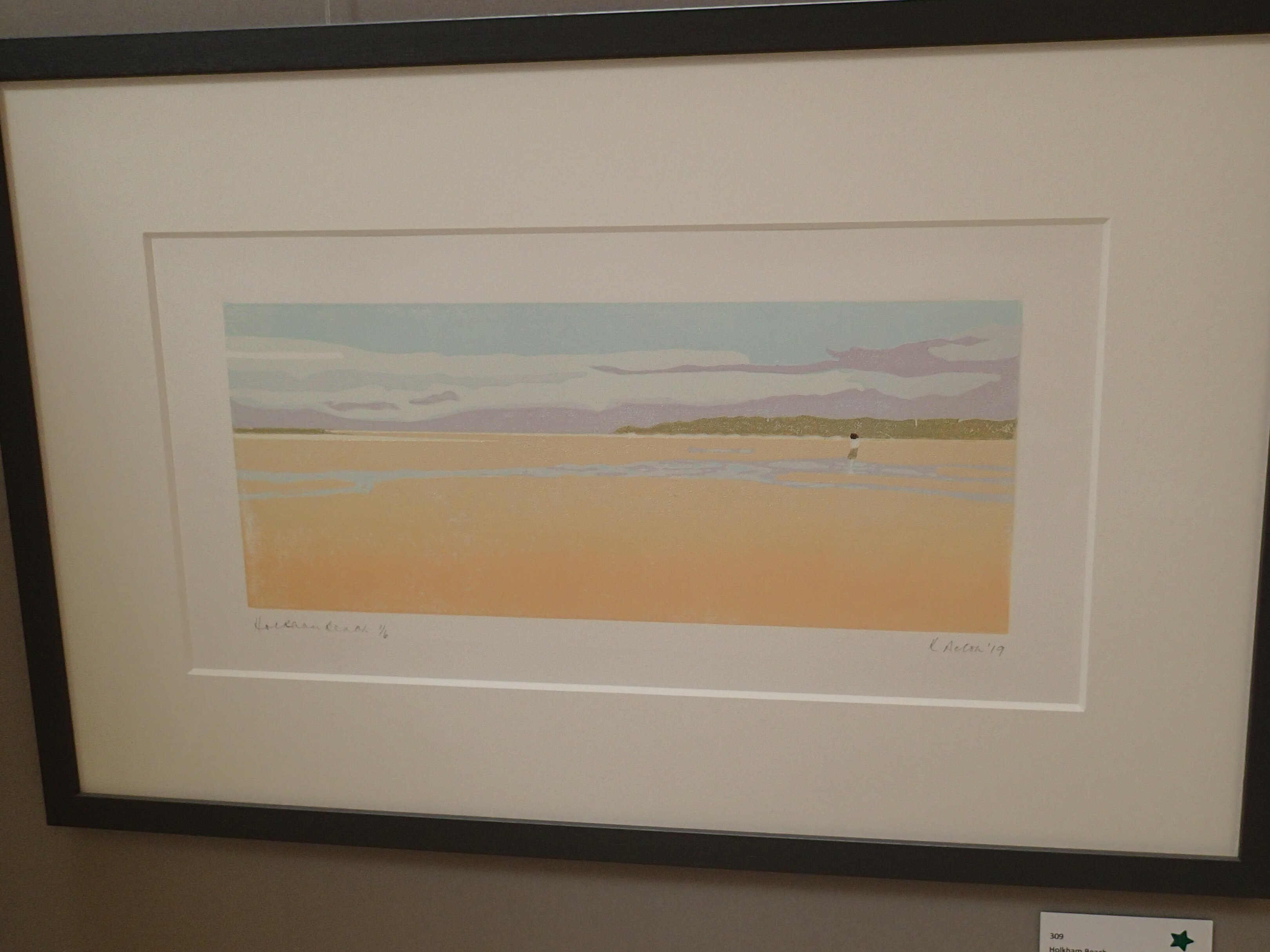 Holkham Beach by Kathryn Acton